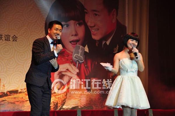 用动听的歌声赞美家乡台州 郑俊海义赠巡演在路桥举行