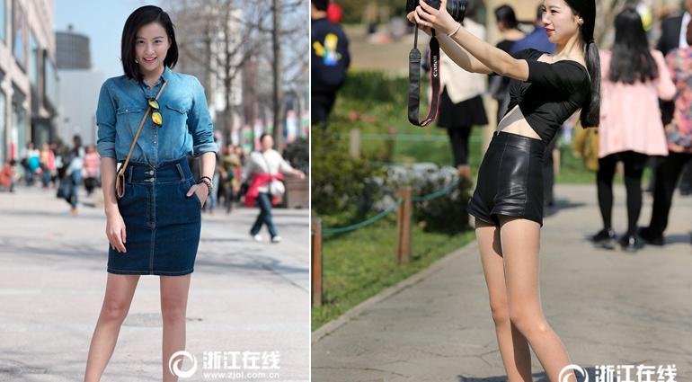 杭州气温超26℃ 可以露大长腿了