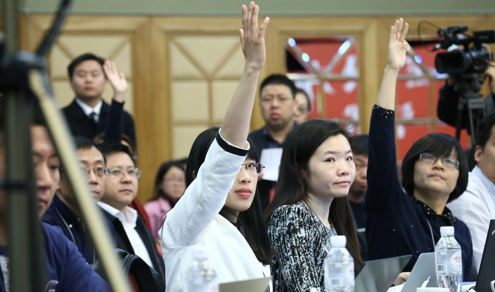 57家境内外媒体101名记者聚焦浙江代表团开放日