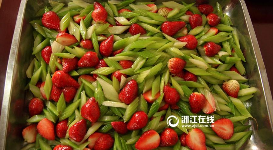 浙江农大水果神菜受追捧