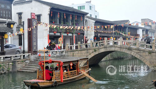 龙湾新城村:古堡别样风情 旅游促发展