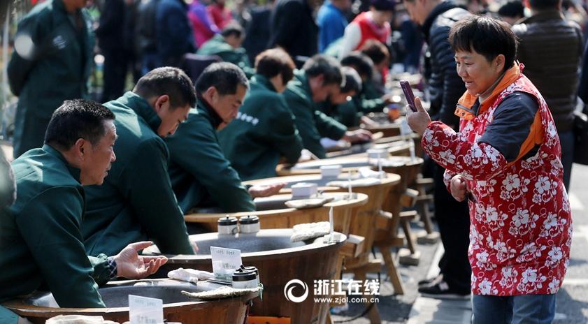 西湖龙井开茶节启幕
