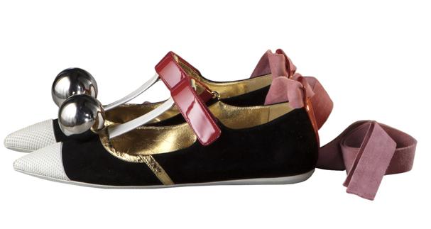 Prada尖头平底鞋-穿上这些平底鞋舒舒服服就时髦,为什么不呢