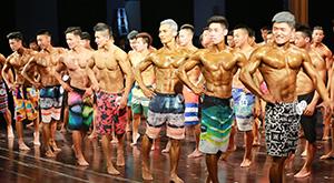金刚芭比肌肉猛男秀肌肉 杭州举行健美健身锦标赛