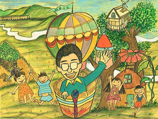2015年全国环保绘画大赛一等奖以及网络人气奖作品图片