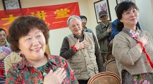 学做一个优雅的杭州叔叔阿姨