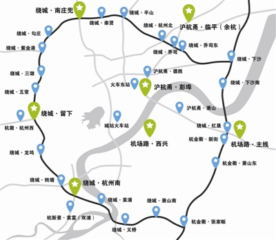 萧山机场公路今日正式通车-住在杭州图片