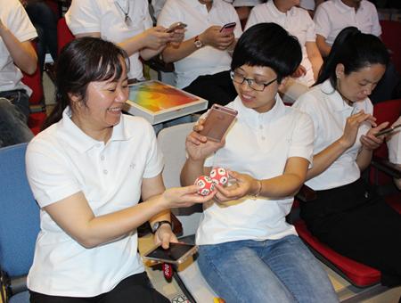 台州投注站代表走进双色球 全程记录开奖过程【活动影像4】