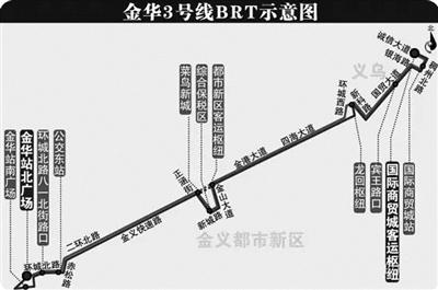 义乌/金华BRT起点金华火车站北广场高铁站-义乌国际商贸城客运中心,全程票价10元,首末班6:00-19:00