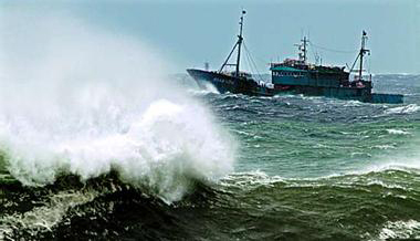 岱山失联渔船确定沉没 17名船员尚无下落