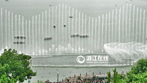 【浙江视界】新西湖音乐喷泉首秀