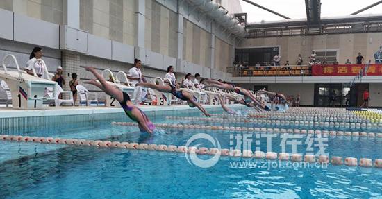 迎2018世界短池游泳锦标赛达人挑战赛