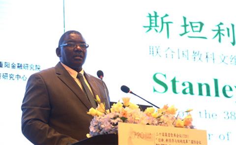 斯坦利・穆通巴・西马塔:希望将中国高铁引入纳米比亚