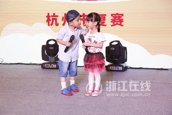 浙江第四届少儿才艺大赛杭州赛区复赛落幕