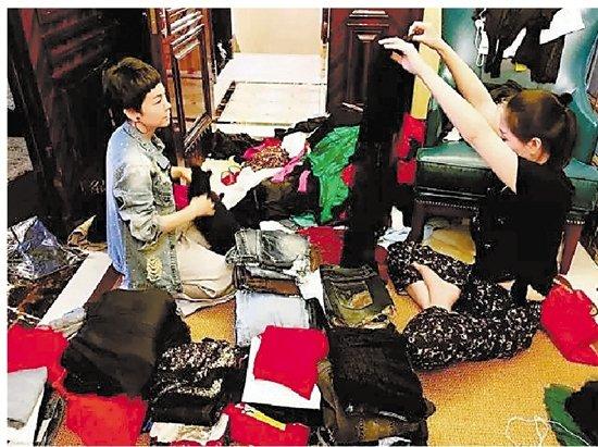 温州兴起衣橱整理师 整理衣柜月入上万