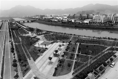 浦江镇人口-戍浦江畔立起 五水共治 新标杆