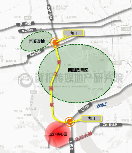 紫之隧道区位图