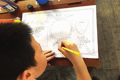 武义:护航G20童心手绘助文明