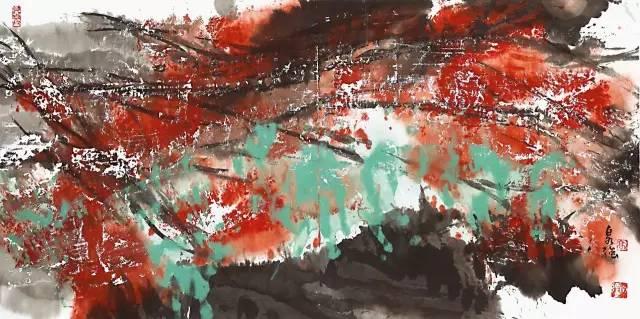 高泉强现代水墨艺术展相约宁波
