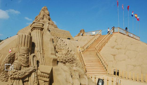 舟山国际沙雕节即将开幕