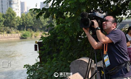 G20即将召开 中外记者共同见证大运河风情