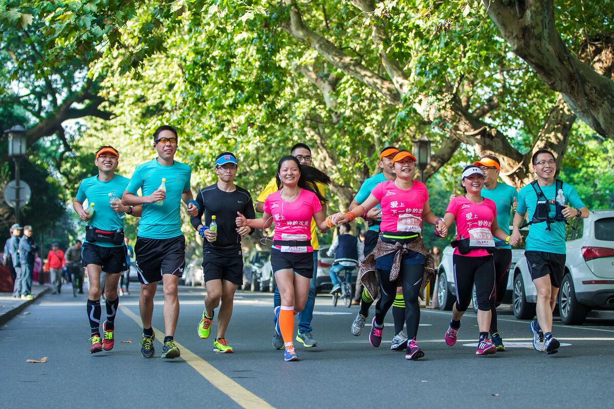 2016杭州西湖女子长跑赛