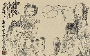池沙鸿——杭城旧影 尽在笔下