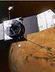 NASA无人宇宙飞船摄奇景 火星夜间发出亮丽光芒