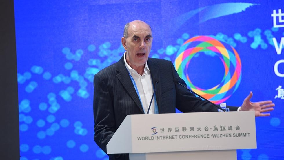 上海理工大学中英国际学院执行院长约翰·威尔森