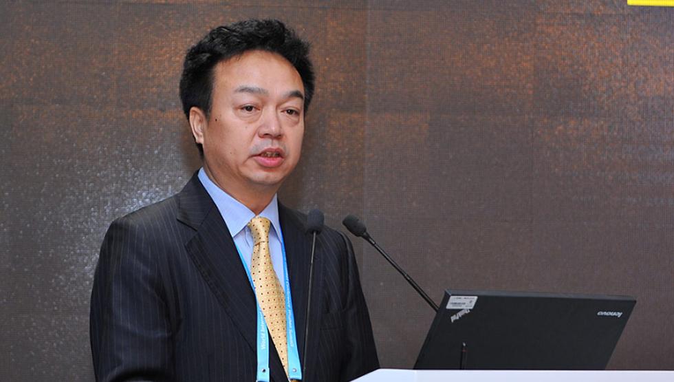 """""""一带一路""""信息化论坛 中国电信集团公司总经理杨小伟发言"""