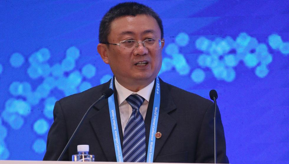 北京大学副校长王杰发表讲话
