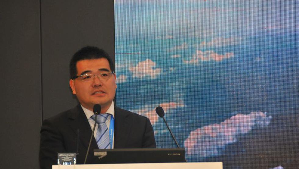 国家信息化专家咨询委员会巡视员兼秘书长单立坡发言