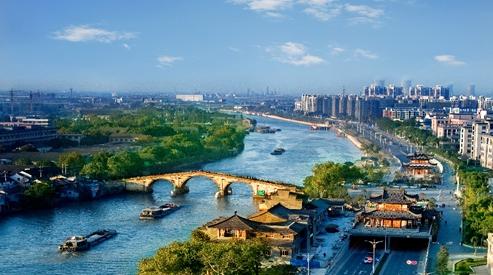 金华告别黑河臭河 引来美丽经济