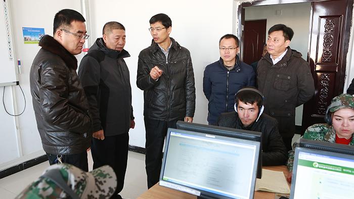 陈建忠副指挥长赴阿克苏市开展援疆项目调研