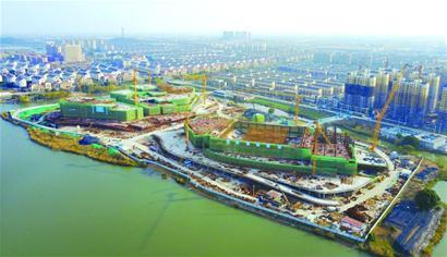 东部新城建设忙