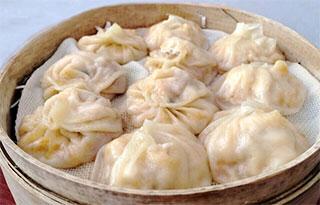 嵊州美食——豆腐小笼包