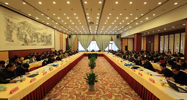 全省水利规划计划工作暨百项千亿防洪排涝工程前期推进会在杭召开