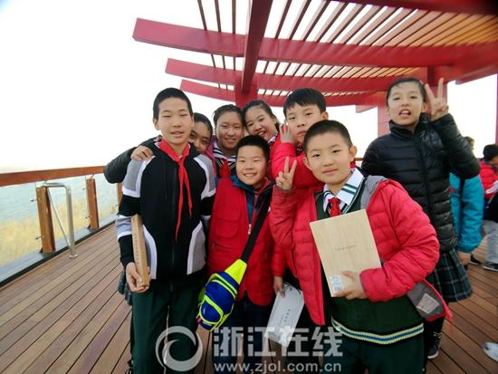 南北少年再牵手 浙江小记者走读京杭大运河