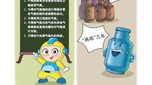 液化石油气钢瓶的正确使用