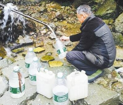 塘溪镇蒋潭村缺水已近20天