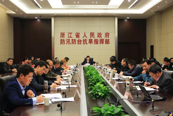 省厅召开2017年百项千亿防洪排涝工程推进视频会