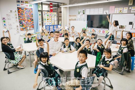"""杭州绿城育华小学让每个孩子找到属于各自的""""跑道"""""""