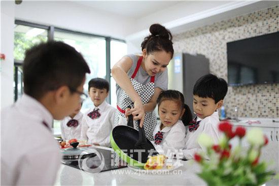 杭实外称寄宿制学校是孩子成长的陪伴者