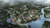 未来科技城西溪金融岛概念方案设计