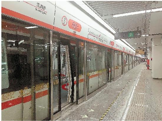 杭州地铁2号线全线贯通试跑