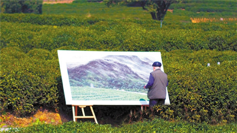 """浙江日报:""""万担茶乡""""今蜕变 且看龙坞茶镇绘蓝图"""