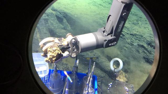 深潜马里亚纳海沟