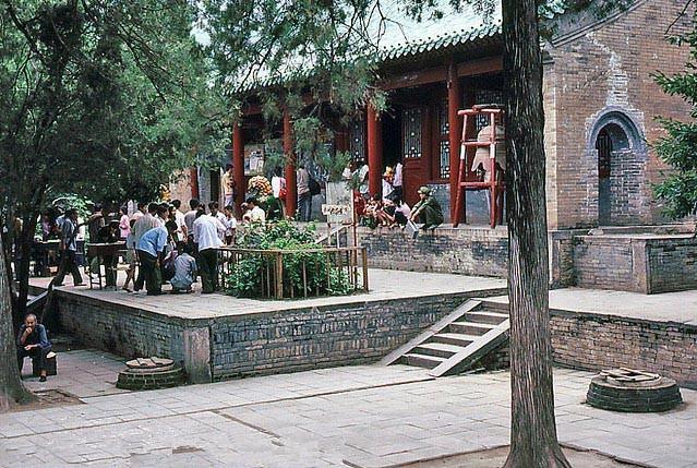 30年前的河南嵩山少林寺