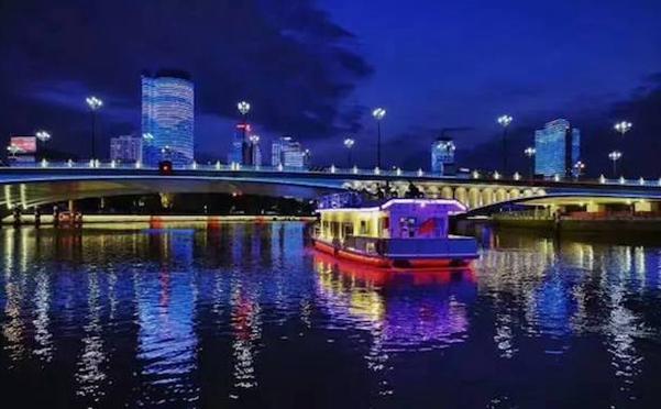 这次玩大了!端午节我们包船请你夜游宁波三江!