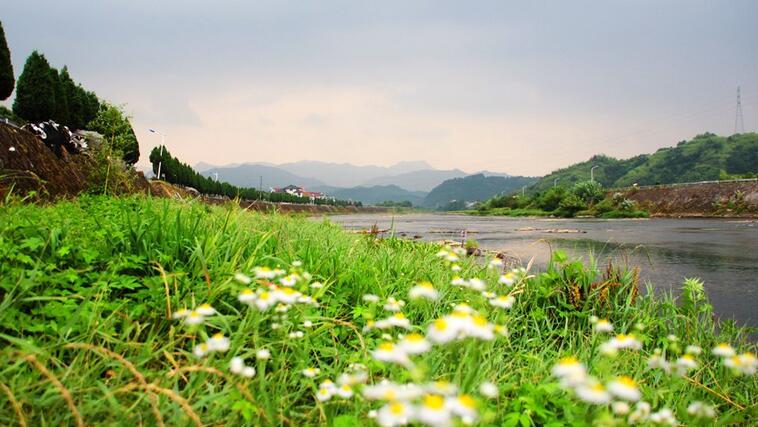 美丽乡村 建德寿昌河南里